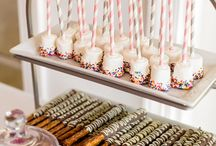 mini desserts / possible mini wedding desserts / by Kristina Blakely