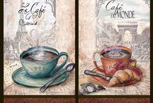 Чашечка ароматного кофе / картинки