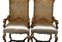 Antique Armchairs / Historic West Palm Beach Antique Row offers wide variety of Antique Armchairs, Vintage Armchairs and Mid-Century Armchairs Collection.