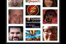 Legends of DC Podcast / Home to the Central City Podcast Dudes, Queen Consolidated, Krypton Report, and Podcast of Tomorrow Podcasts / by Phil Perich