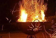 Feuerkorb / Wunderschöne handgefertigte Feuerkörbe aus Stahl...click Bollerkorb.com