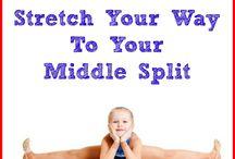 stretc&yoga practice