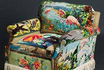 sillones tapizados