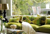 Интерьер в оливковых тонах / Оливковый цвет в интерьере используется не так часто как мог бы…