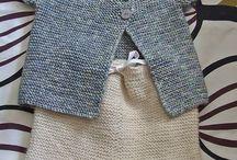 Babytøy strikk