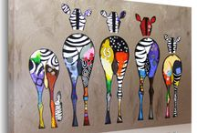 Funny Colorful Art