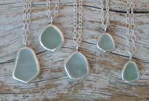 Seaglass jewellery