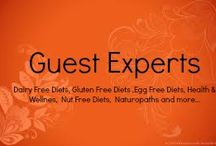 Guest Experts / We are honoured to have a panel of experts in their various fields that choose to share with our readers their knowledge, advice, articles & recipes in their chosen field.