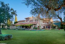 Villas of Umbria, Italy / Rustic Farmhouse, gourmet kitchens and luxurious outdoor living.  Homebase Abroad's villas are comfortable and private.