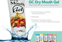 #DRYMOUTHGEL / GC #DryMouthGel is designed to ease the symptoms of dry mouth for patients who may be suffering from impaired production of saliva due to medications, radiation treatment or diseases that can damage the salivary glands. This product provides a protective coating for teeth and oral tissue. This pleasant-tasting, sugar-free product is available in five delicious flavors (raspberry, fruit salad, mint, lemon and orange).