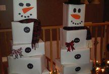 decoracion escaparate navidad