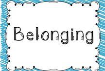 "Belonging (Morning Meeting) / Resources for ""Belonging"" themed Morning Meeting Ideas"