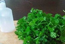 Parsley lotion