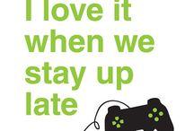 Gamer/Geeky stuff / Bunch of gamers/geeky stuff that I like  Enjoy it!