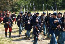 Civil War Reenactments / Museum Village Civil War Reenactments