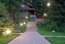 Outdoor Lighting System / As important to #landscaping as the right choice of grasses and flowers, #outdoor-lighting systems should be well planned and properly installed.