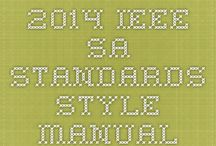 IEEE Style / Tips for writing in Institute of Electrical and Electronics Engineers (IEEE) style