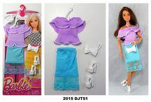 2015 Barbie Doll Fashion Packs