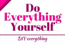 Do everything yourself - DIY / DIY ideas and DIY tips. Home, gift, clothes, jewellery, decor and everything handmade.