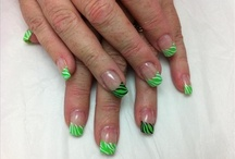 St Patrick's Day Nail Art / by Rose Stumbaugh