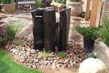 front yard landscape ideas / by Jill Weil