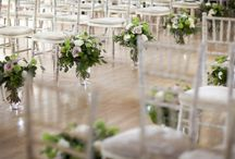 AISLES / Aisle floral inspiration. This board is a mixture of our designs and other floral designers.