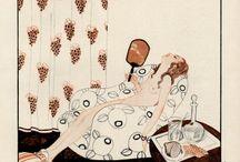 Pin-Up Art by BRUNNER, Zyg. / Full name: Zygmunt Leopold Brunner 1878 - 1961