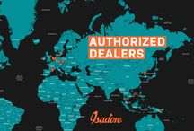 Isadore Apparel - Authorized Dealers