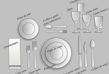 Arrumar mesa