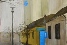 balu / rajz festmény drawing painting balu bambalu Konrád Balázs