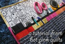 sewn gifts / cute, easy, quick, scrappy things to sew to make someone happy and get a gift / by Zen Chic, modern quilts by Brigitte Heitland