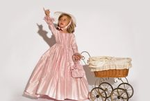 Duchesse et Princesse /  #robe #enfant #déguisement #18emesiècle #marie antoinette #fancydress #luxury #dress