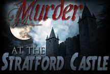 Murder at the Stratford Castle / Large group murder mystery game (20-75 unique guests) in a traditional castle setting, ages 14 and up due to difficulty. http://www.mymysteryparty.com/muatstcaindo.html