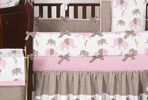 Vauvan sängyn pehmusteita