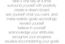 """""""The Road to Success"""" / Quotes and  mantras to help you stay focused and positive on your employment journey."""