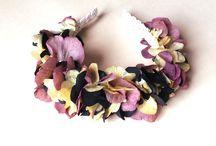 Boho flower headpieces