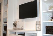 tv closets