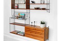 String shelves / Shelves