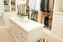 Elbise odası / Ev düzeni