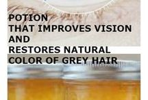 vision and gray hair