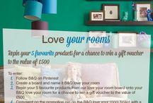 B&Q love your room