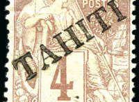 Tahiti Stamps