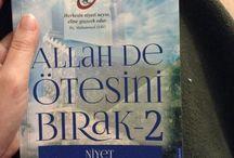Kitaplarım / Okuduğum kitaplar