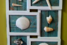 Seashells By The Seashore- / shell decor & DIY shell crafts / by Barb Taylor