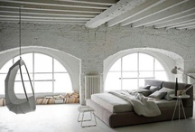 loft sypialnia