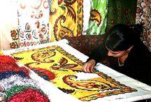 Suzani: Asian inspirations for home / http://forelements.pl/magia-suzani-czyli-tajemnicze-kwiaty-z-samego-srodka-azji/