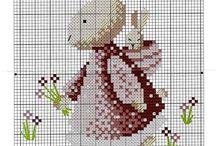 Bunny / Punto croce