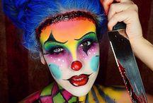 payasos maquillaje