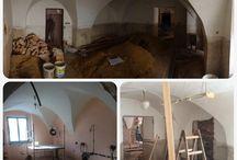 Rekonstrukce / Rekonstrukce baru Thir v Táboře.