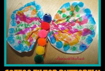 Crafts / arts and crafts for all ages; tips and ideas of fun and educational things to make - great for home, school or #homeschool